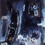 001 ' The Magic Carpet' 1990 220cm x 190cm Acrylic, Mixed Media on canvas