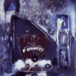 002 'The Magic Castle' 1990 176cmx149cm Acrylic , Mixed Media on canvas