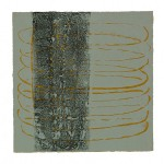 002 ' Tree radiating Happiness' 2004 Monotype 30 cm x 30 cm