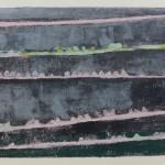 003 ' The Poetics of a Washing Line' 2016 Monotype 40cm-50cm
