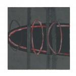 004 ' String Series' 2004 Monotype 30 cm x 30 cm
