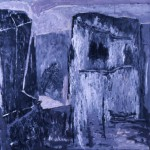 005  'Ruin' 1986 206 cm x 204cm Acrylic on Paper