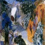 005 ' Spring River' 1987 176cmx149cm Acrylic on canvas