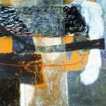 006 Ohne Titel 1996 127 cm x 171 cm Acrylic, mixed Media on canvas