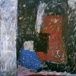 006 ' One Night by the Saint's cave' 1987-1988 208 cmx202cm Acrylic on canvas