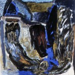 007 ' One Night by the Saint's Cave 1988 208cmx202cm Acrylic on canvas
