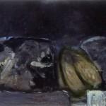 007 ' Scarabeus' 1997  102 cm x 200 cm Acrylic, Mixed Media on Canvas