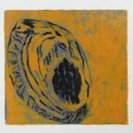 007 Untitled 2015 Monotype 30 cm x 30 cm