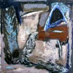 008 ' One Night by the Saint's Cave' 1988 211cmx217cm Acrylic on canvas