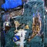 009 ' The Saint's Cave 1988 212cmx174cm Acrylic on canvas