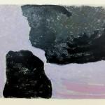 010 Untitled 2015 Monotype 40cm x 50 cm
