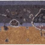 012 ' Fugitives of Light' 2004  150cm x 180cm Acrylic, mixed media on canvas