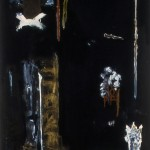 10 Untitled 1989 180cm x 93cm Acrylic on canvas
