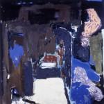 12 ' One night by the Saint's Cave' 1988 208cmx202cm Acrylic on canvas